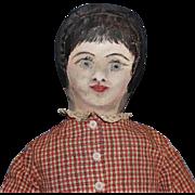 American Folk Art Doll