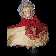 Petite Topsy Turvy Paper Mache dolls