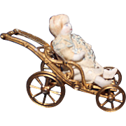 Tiny Folding Doll Carriage