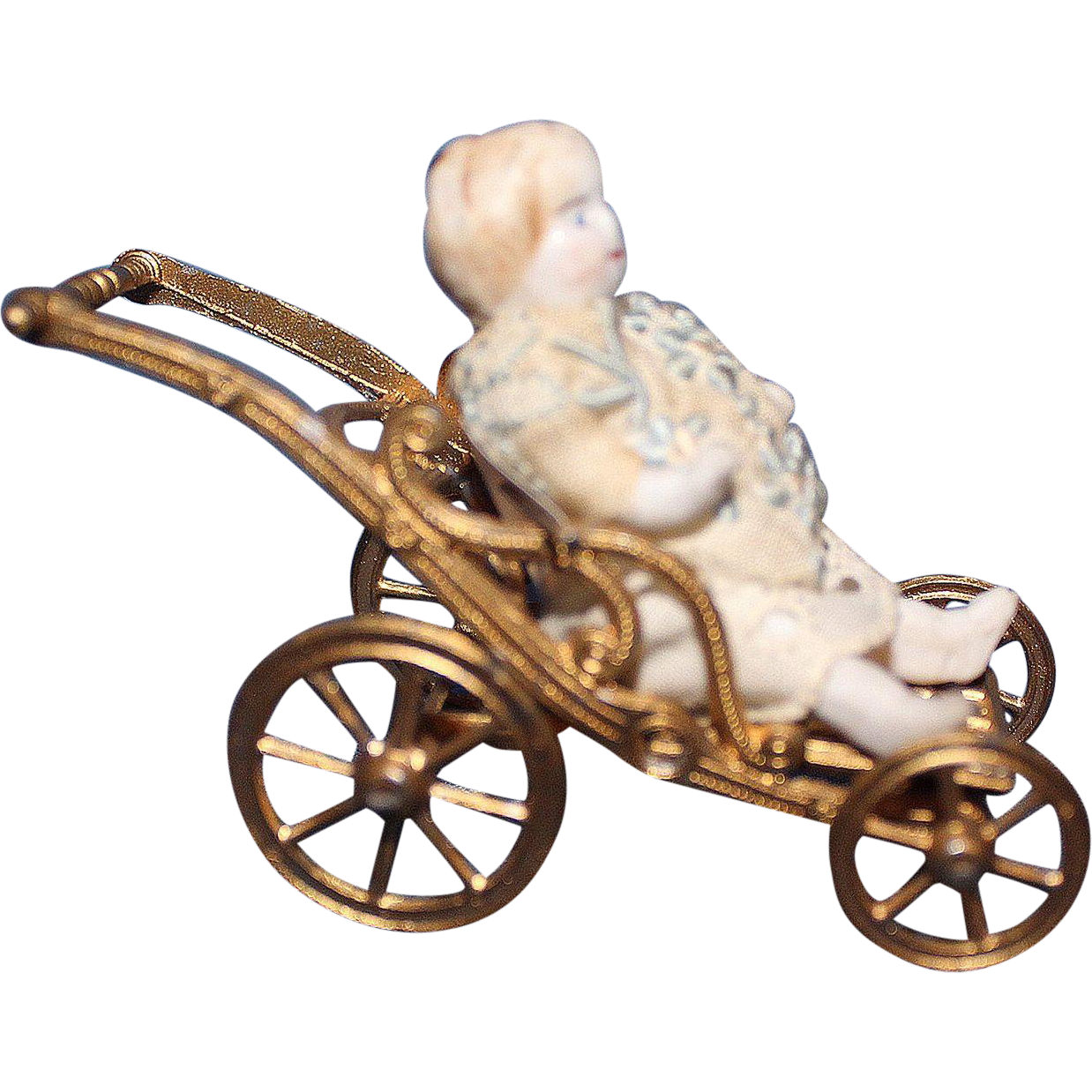 Tiny Folding Doll Carriage