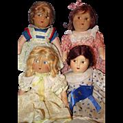 All Cloth Little Women by Madame Alexander