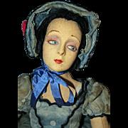 Rare Lenci Boudoir Doll