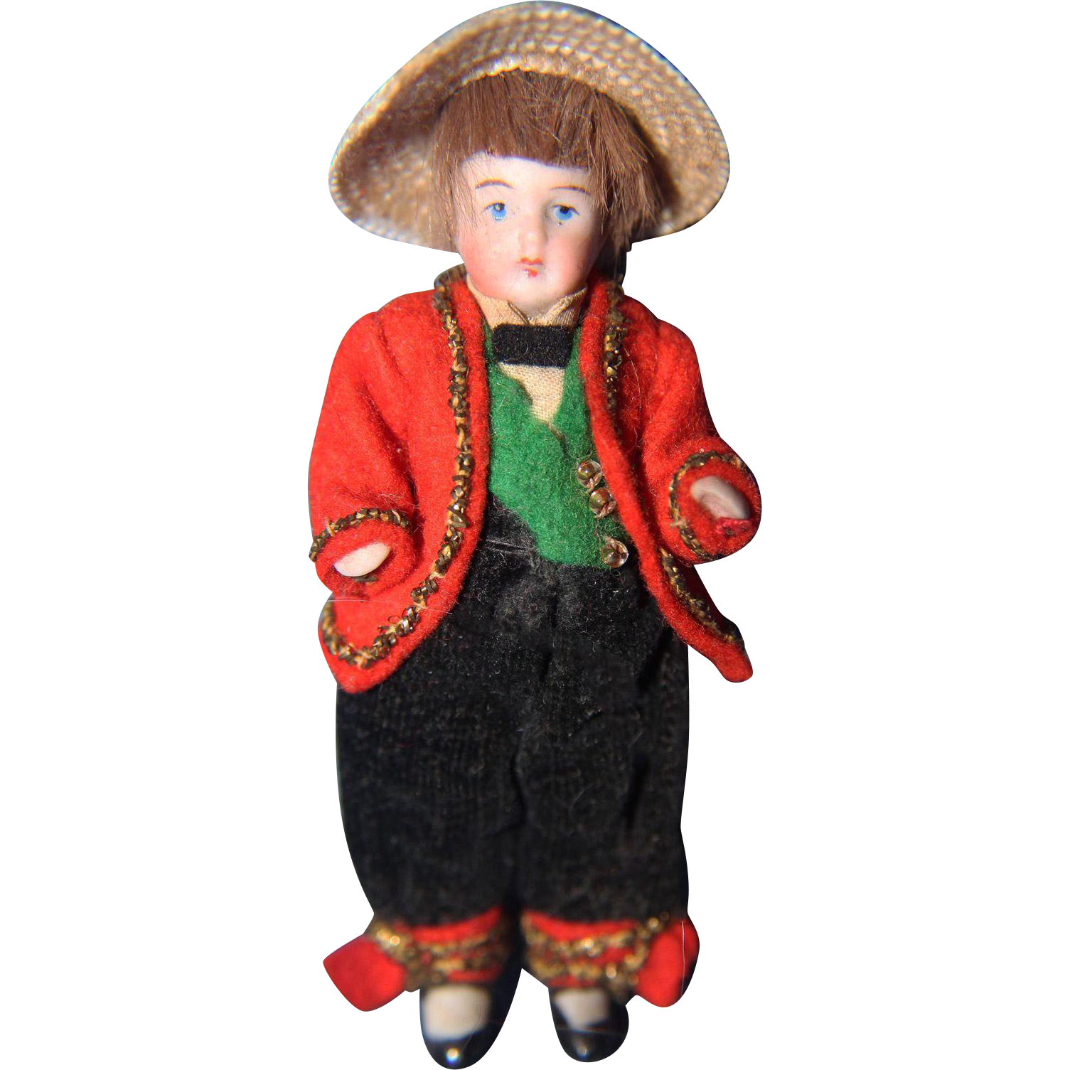 All Bisque Boy Doll