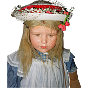 Schiaparelli Hat Perfect for large doll
