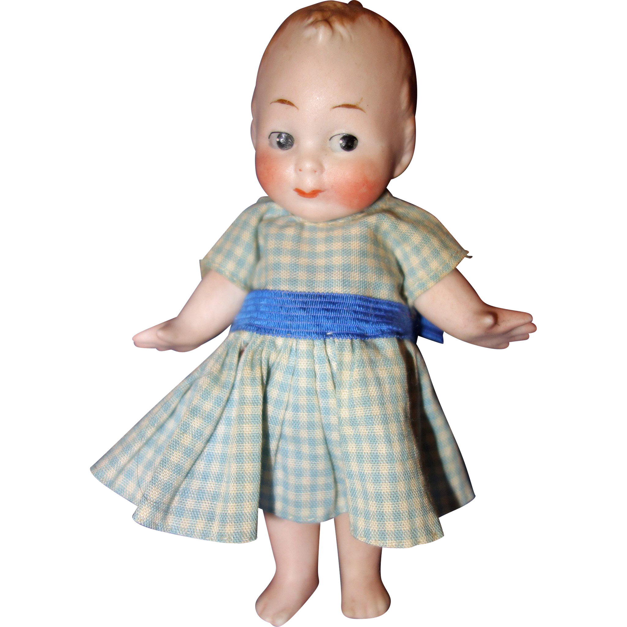 All Bisque Character Doll