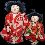 Tiny Japanese Dolls