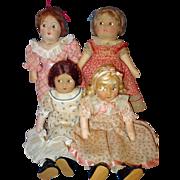Little Women Set all cloth Alexander Dolls