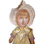 Printed Face Cloth Doll