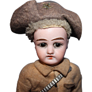 Rough Rider German Bisque Doll