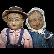 Well Loved Bruckner Dolls