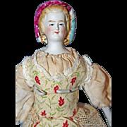 Petite Empress Eugenie Parian Doll