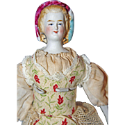 Petite Empress Eugenie Parian Doll