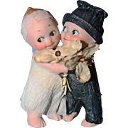 Kewpie Bride and Groom