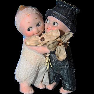 Kewpie Bride and Groom