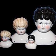 Group China Doll Heads