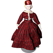 Bonnet Bisque Doll