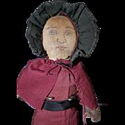 Cloth Folk Art Doll