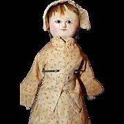 Queen Anne Wood Doll
