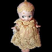 Kewpie Bride All Bisque