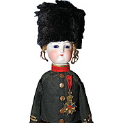French Toy Soldier Candy Container