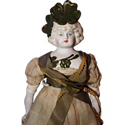 Rare Clover Bonnet Doll from John Darcy Noble Collection