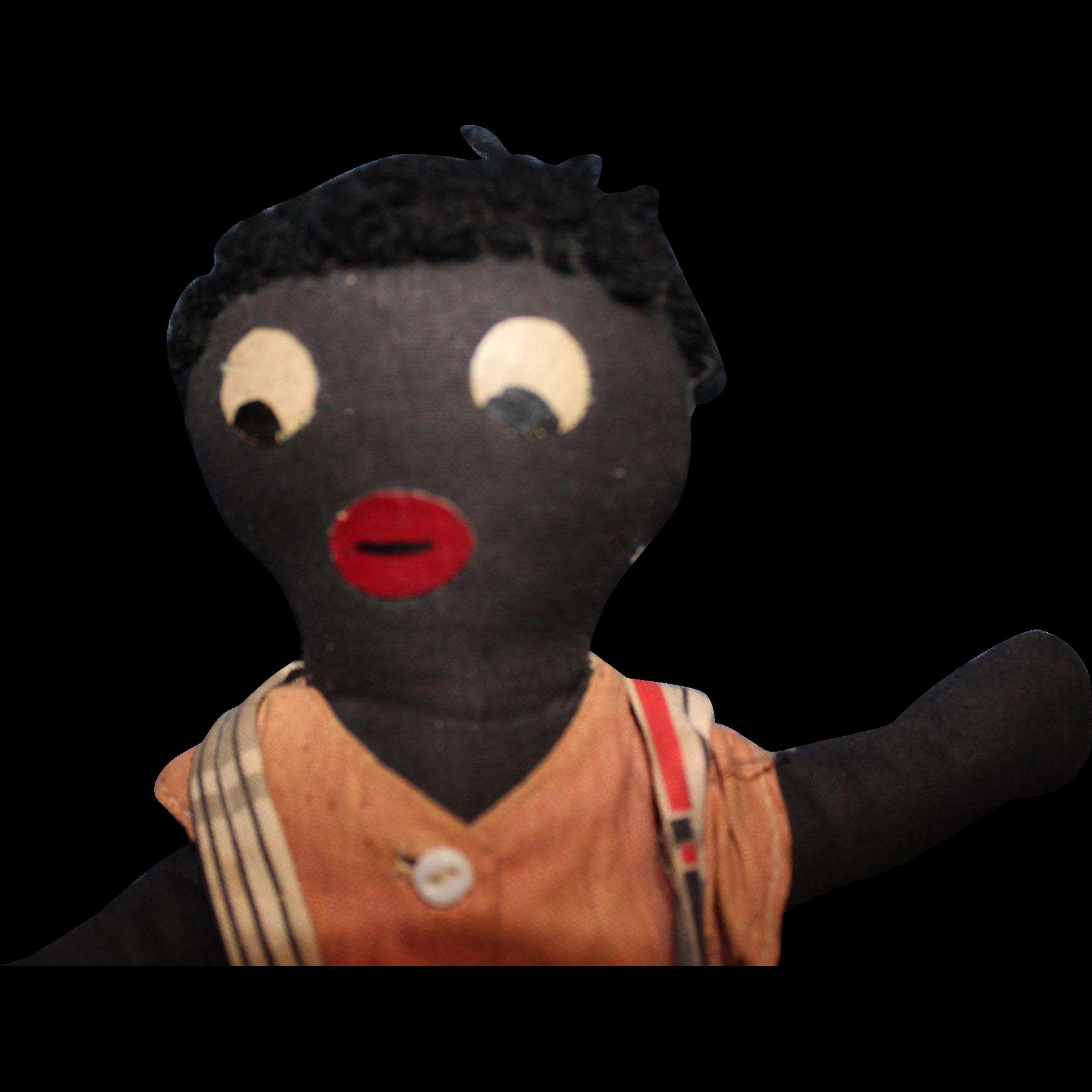 Early Black Cloth Doll