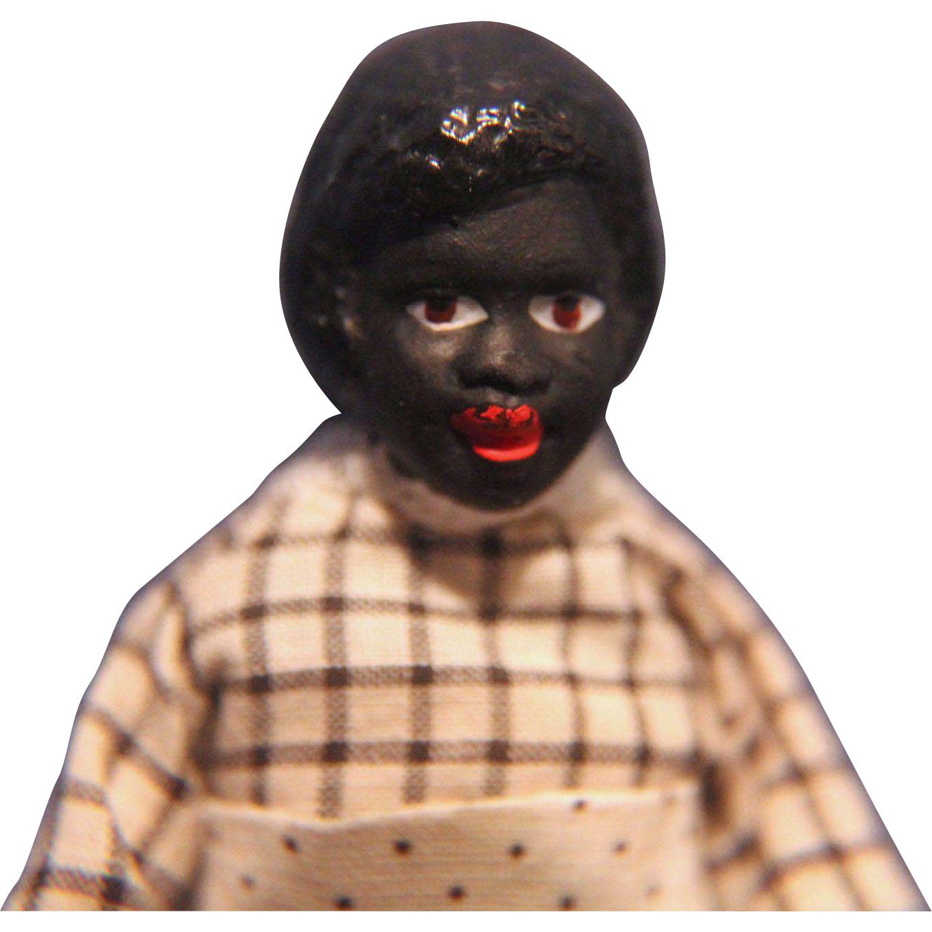 Black Doll House Lady