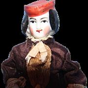 Petite Bonnet head China doll