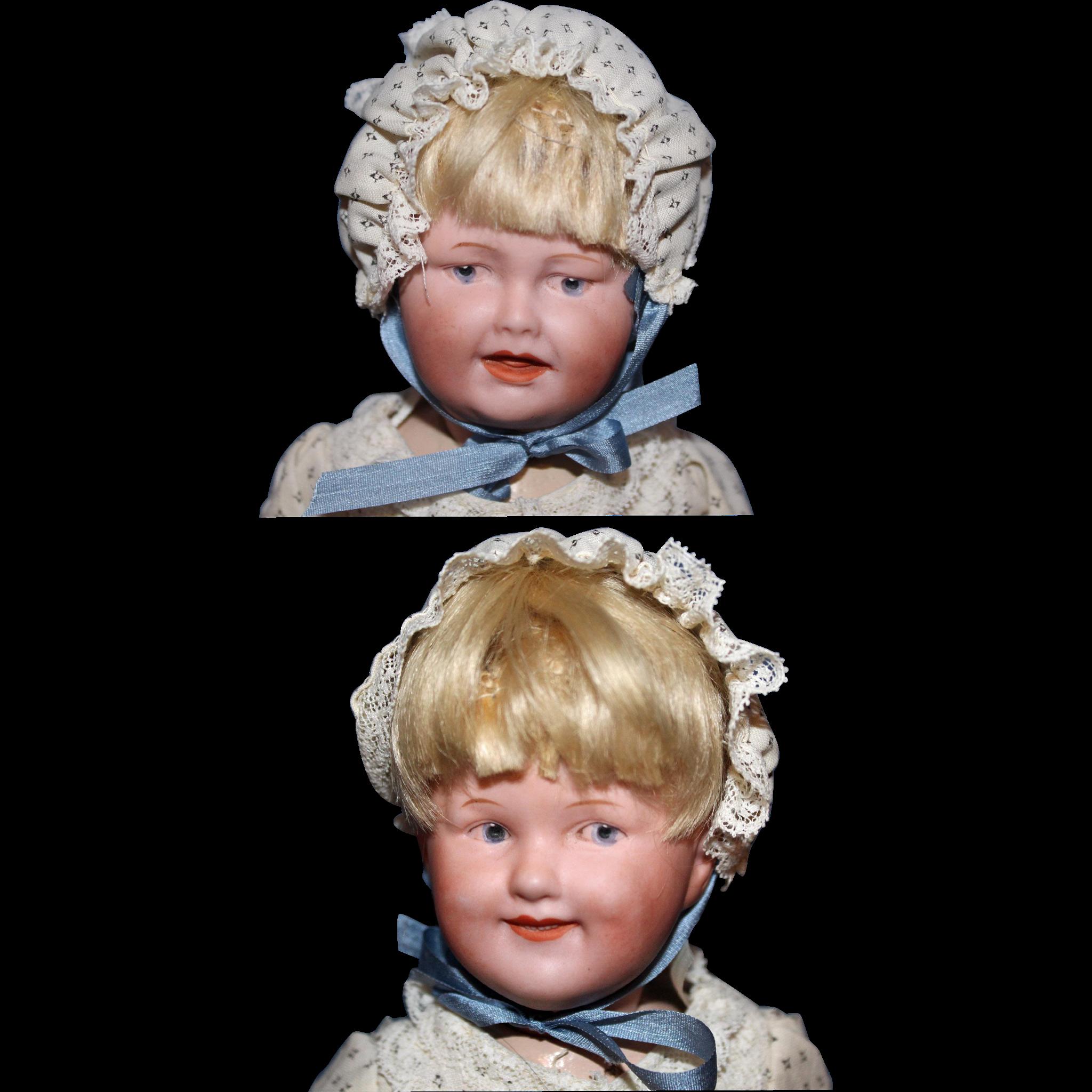 Rare Multi Face Gebruder Heubach Doll