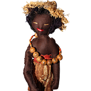 Unusual Black Doll