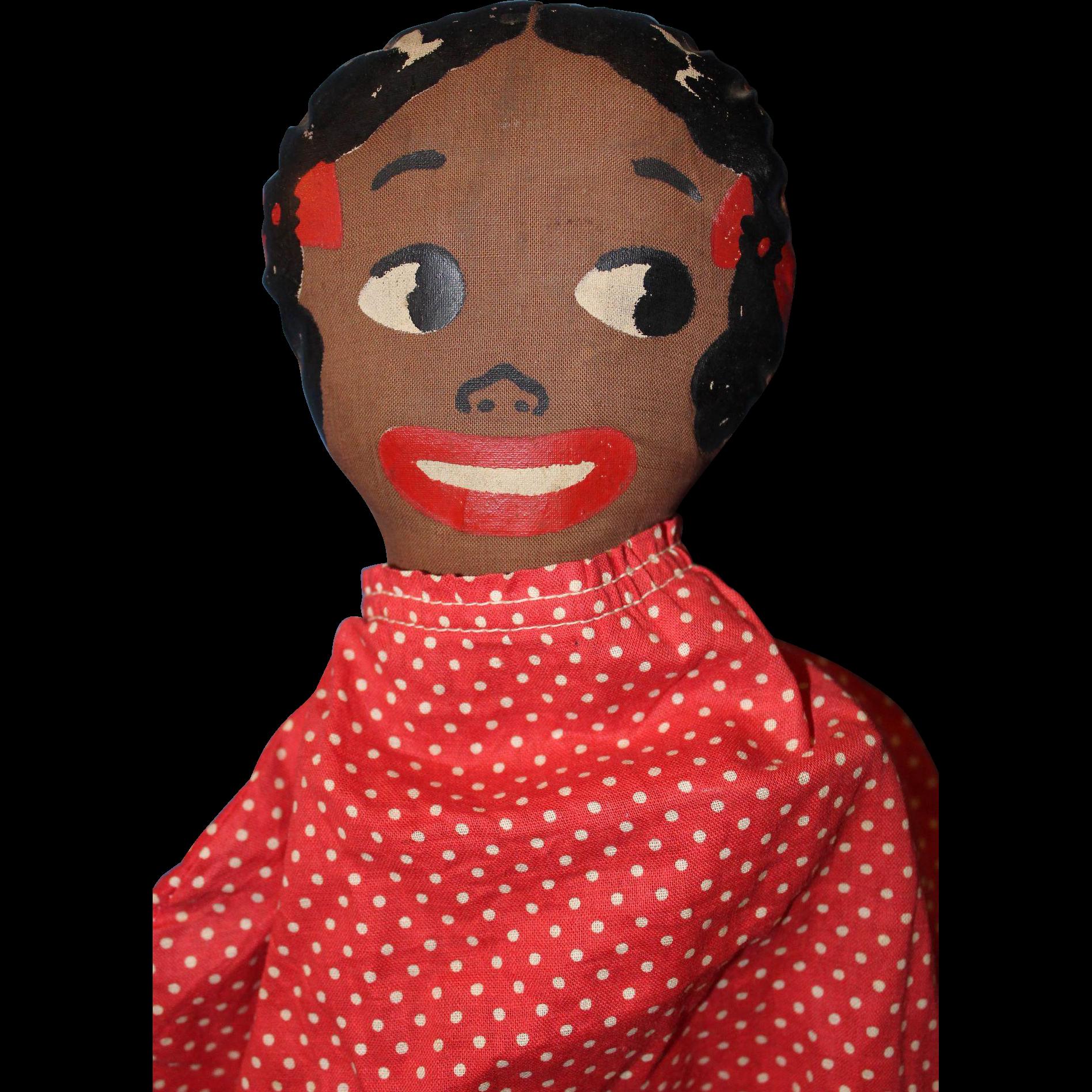 Black Doll Pajama Bag