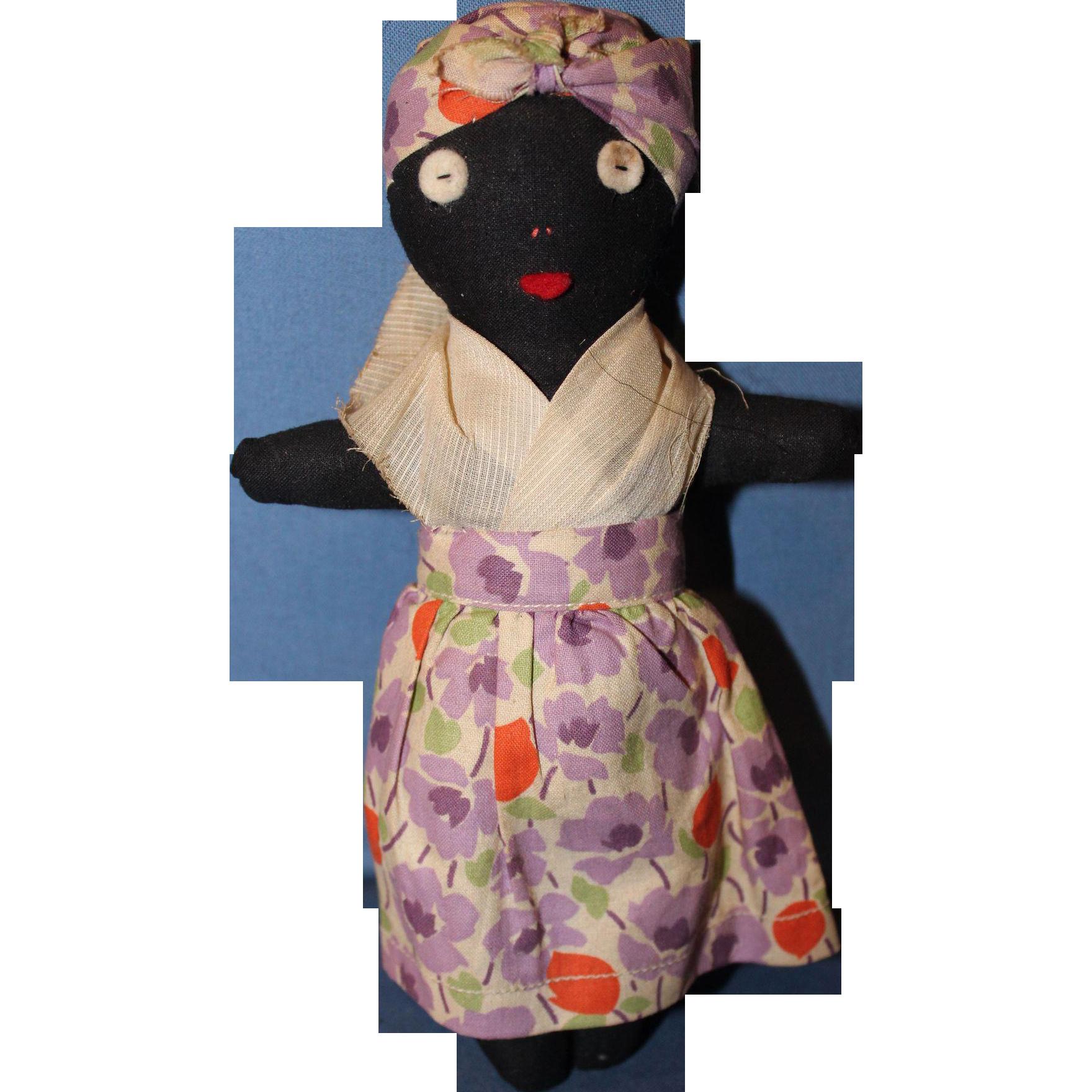 Small Black Doll