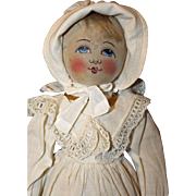 Early Painted Face Babyland doll
