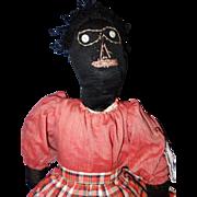 Early Black Folk Doll