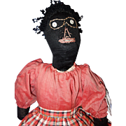 Early Black Folk Doll