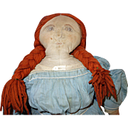 Early Cloth Doll with History