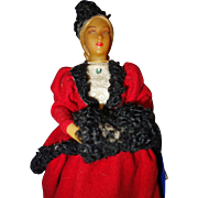 Wax Lady Candy Container