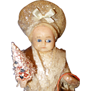 Wax Doll Candy Container
