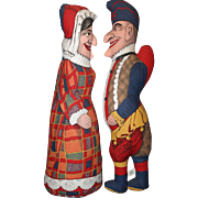 Punch and Judy United Federation of Doll Club Dolls