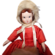 Ruth Gibbs December Godey Doll