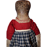 Early American Folk Art Doll