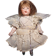 All Bisque Little Angel Doll