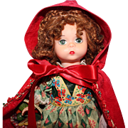 Madame Alexander Red Riding Hood