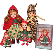 Group of Madame Alexander Dolls