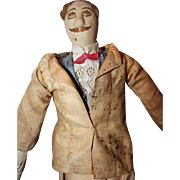 Early Cloth Man Doll