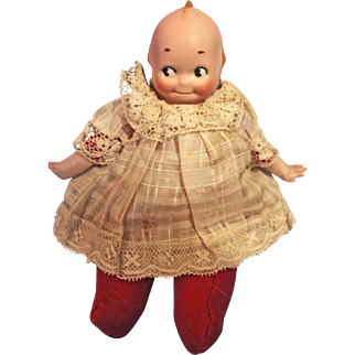 Bisque Kewpie Shoulder head doll