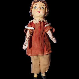 Paper Mache Squeak Doll