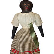 Black Doll From Aunt Len's Doll Museum