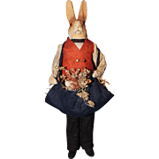 Rabbit Doll Candy Container
