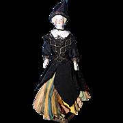 Blond Parian Fortune Teller Doll